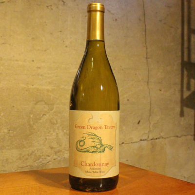 Green Dragon Tavern Chardonnay Wine Amalthea Cellars
